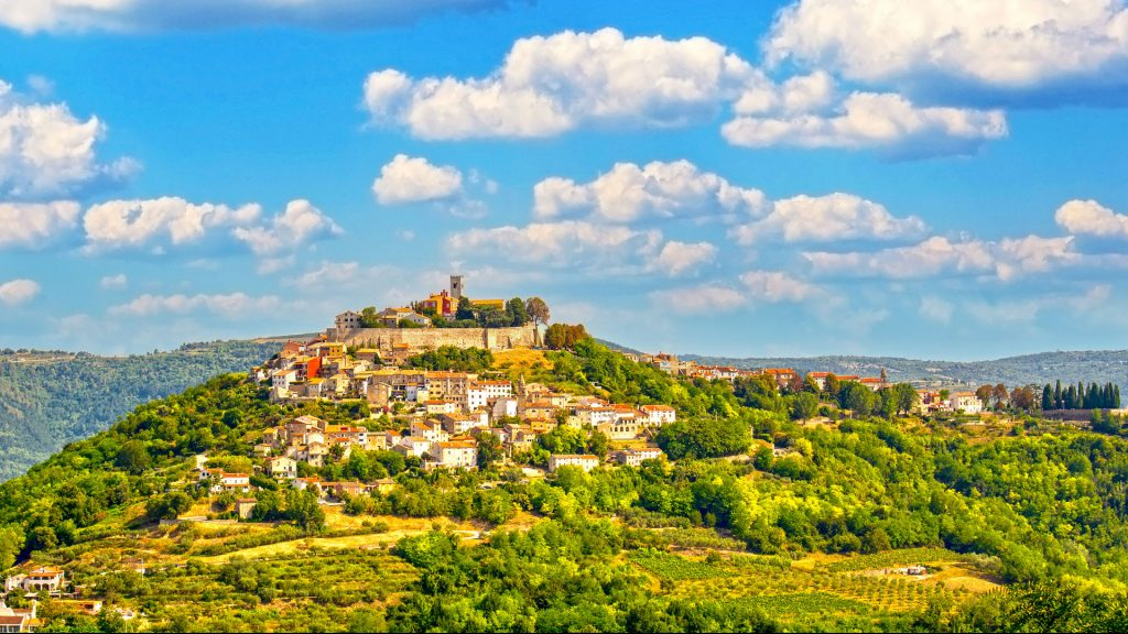 Beautiful nature in Istria