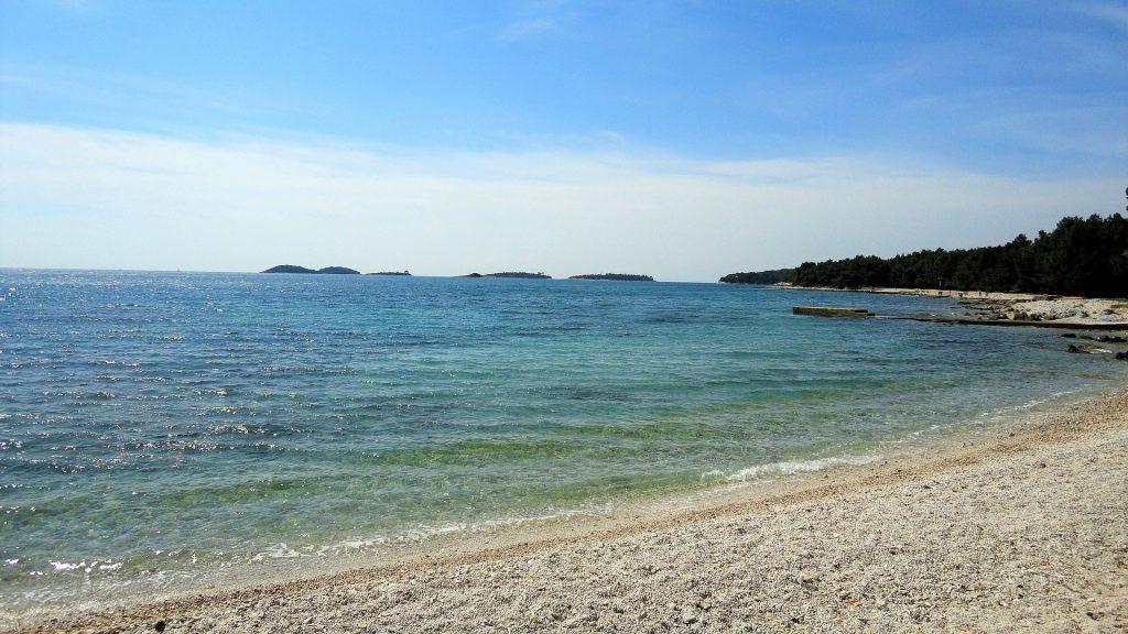Most popular beaches in Istria