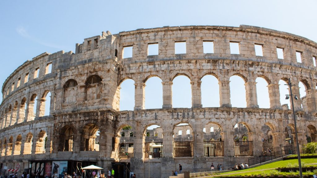 The story of Arena in Pula