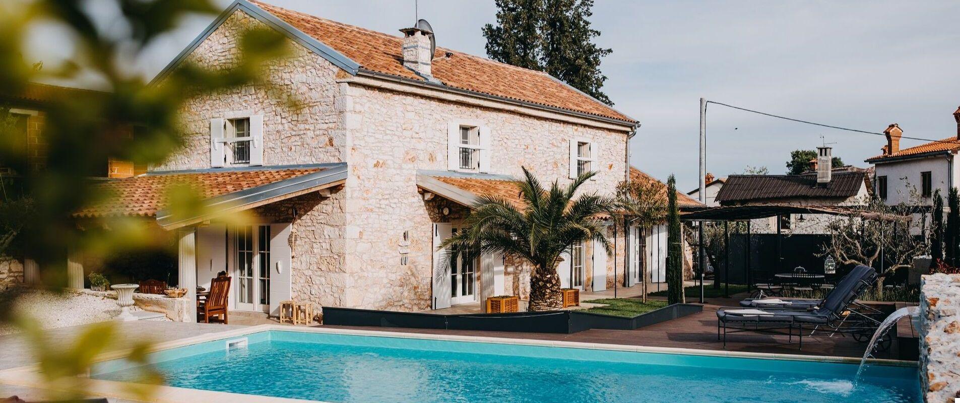 Oryginalna willa San Lorenzo z basenem