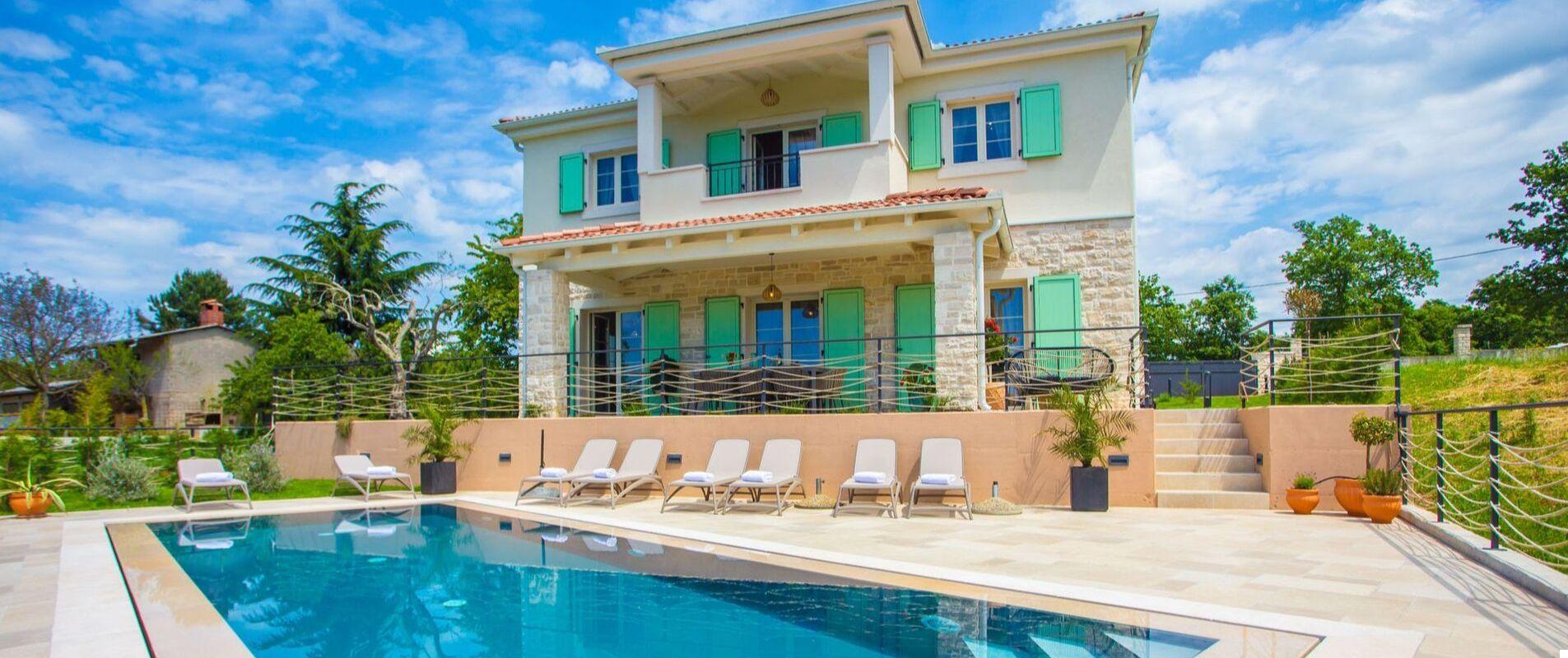 Urocza Villa Vita z basenem